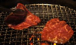 美味しそうな焼き肉の写真素材(フリー)