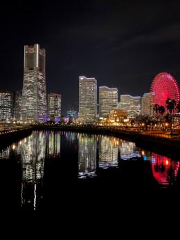 横浜の代表的な夜景