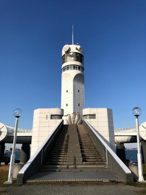 シンボルタワーの写真の無料画像素材